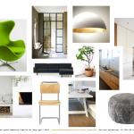 Interieurinspiratie woonkamer en woonkeuken gezinswoning